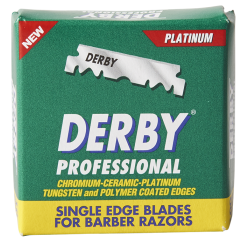 Derby Professional Half Razor Blades, 100 pcs.